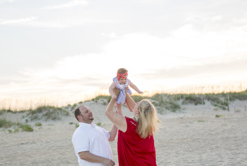 89th Street Virginia Beach Sunset | Virginia Beach Family Photographer