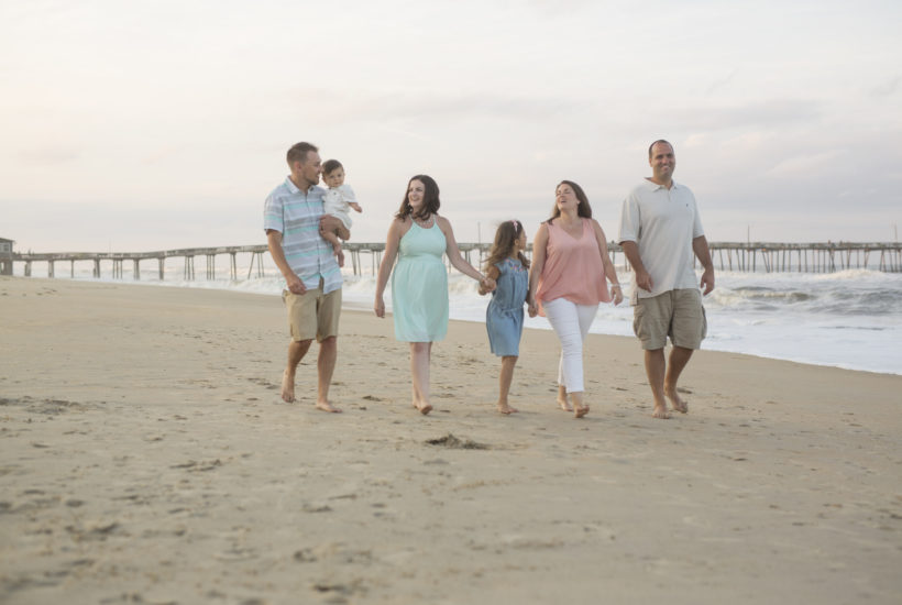 Soft Light in The Outer Banks | OBX Family Session | OBX Family Photographer