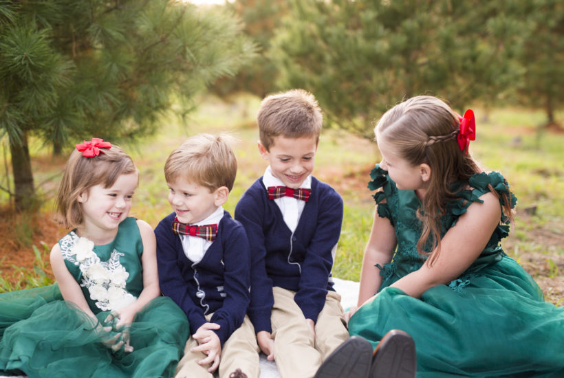 Christmas Tree Farm Mini Sessions | Monmouth County Family Photographer