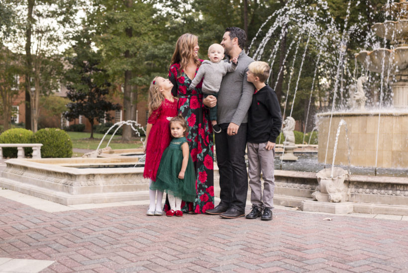A Magic Hour Holiday Session in Virginia Beach | Virginia Beach Family Photographer